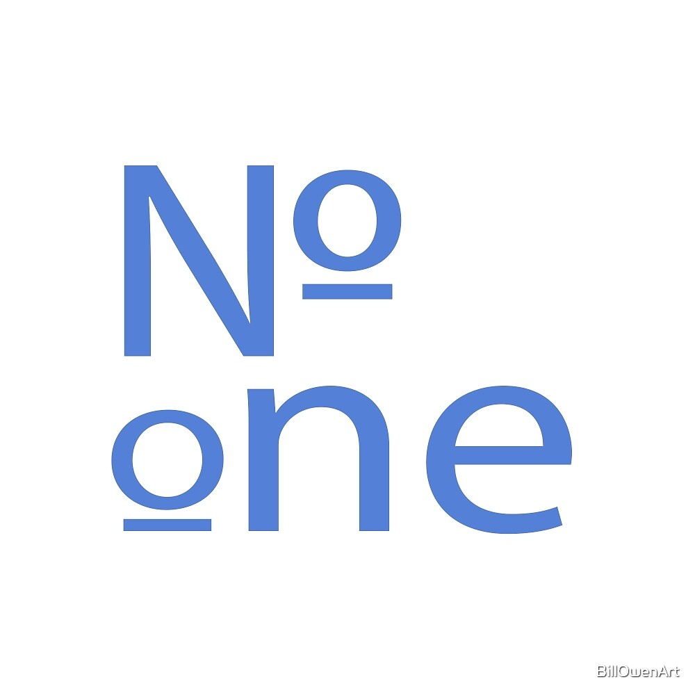 """""""Number One"""" typography by BillOwenArt"""