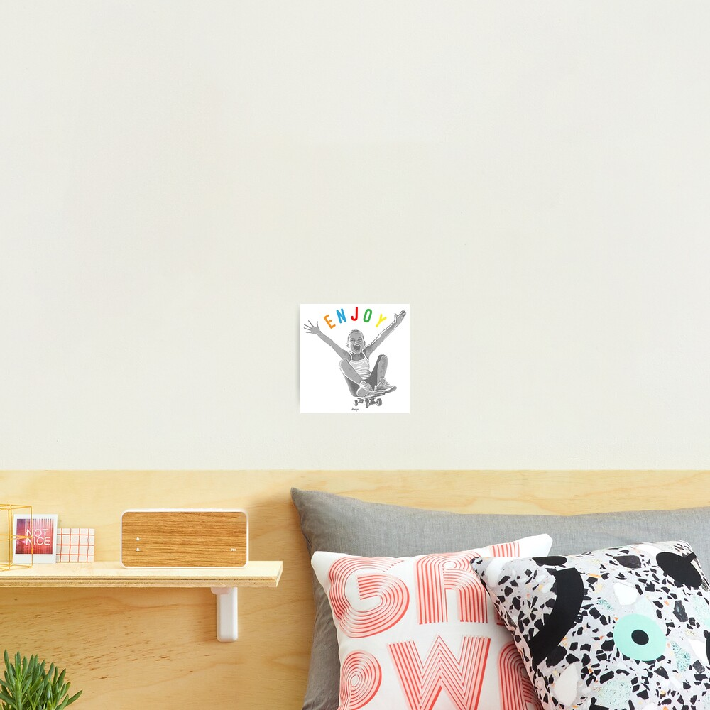 Enjoy design Photographic Print