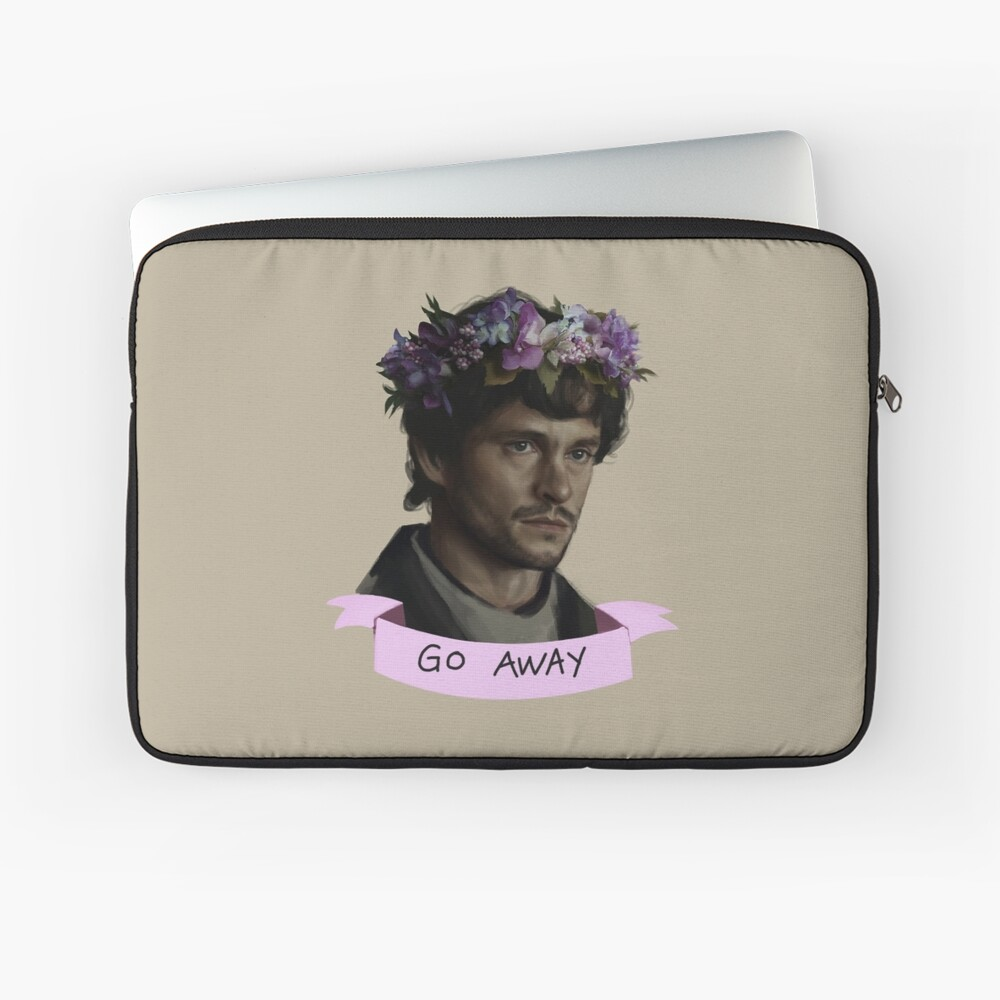 Hannibal - Go Away Laptop Sleeve