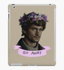 Hannibal - Go Away iPad Case/Skin