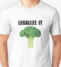 Legalize it (Legalize weed parody) Unisex T-Shirt