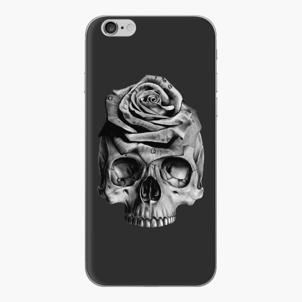 Skull Rose iPhone Skin