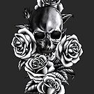 Skull and Roses by Jessica Bone