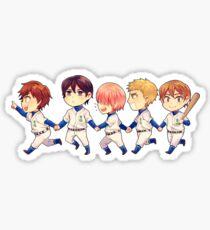 Daiya no Ace 1st year Sticker