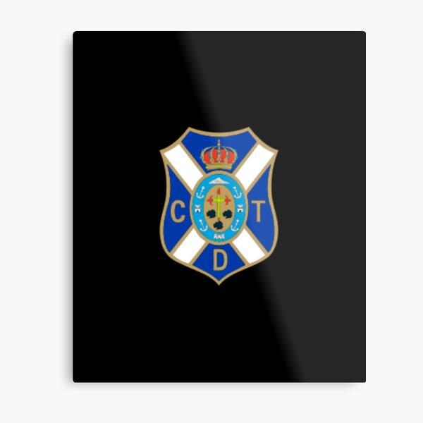 cd tenerife flag coat of arms Metal Print
