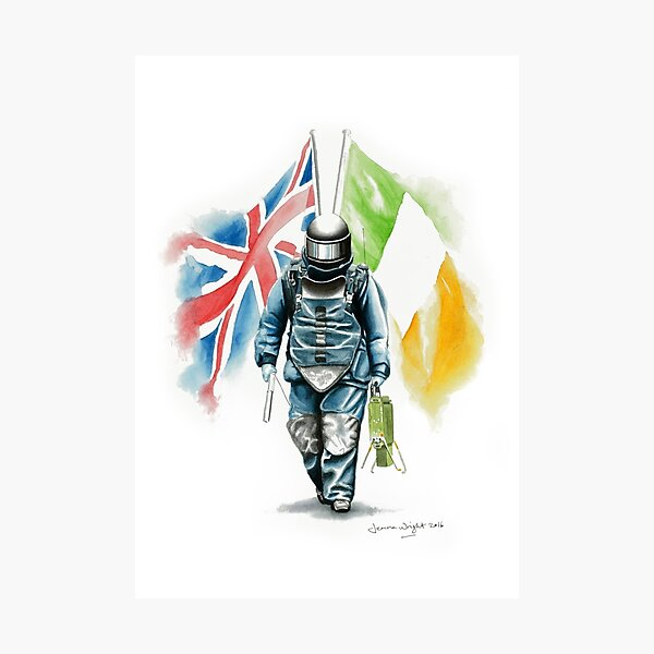 EOD Operator - Northern Ireland Photographic Print