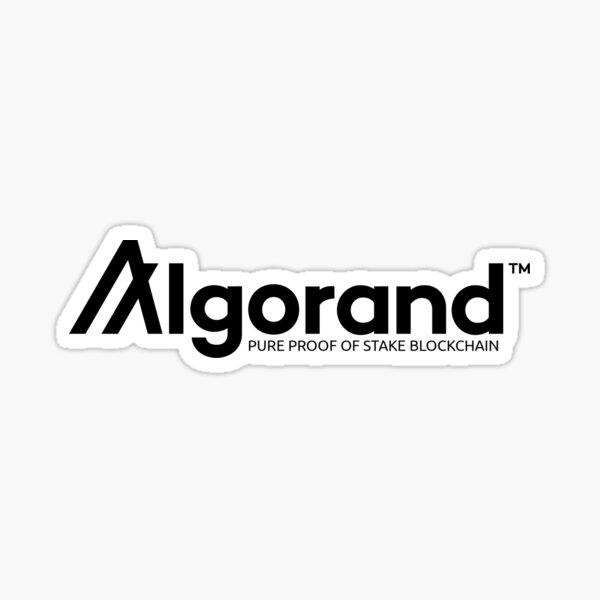 Algorand Sticker