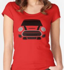 Red italian Job Women's Fitted Scoop T-Shirt