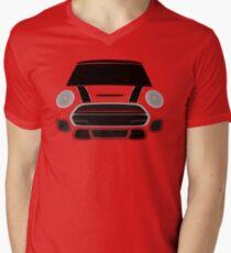 Red italian Job Men's V-Neck T-Shirt