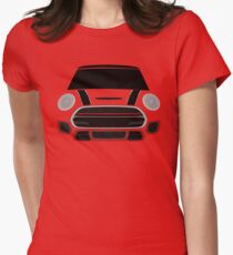 Red italian Job Womens Fitted T-Shirt