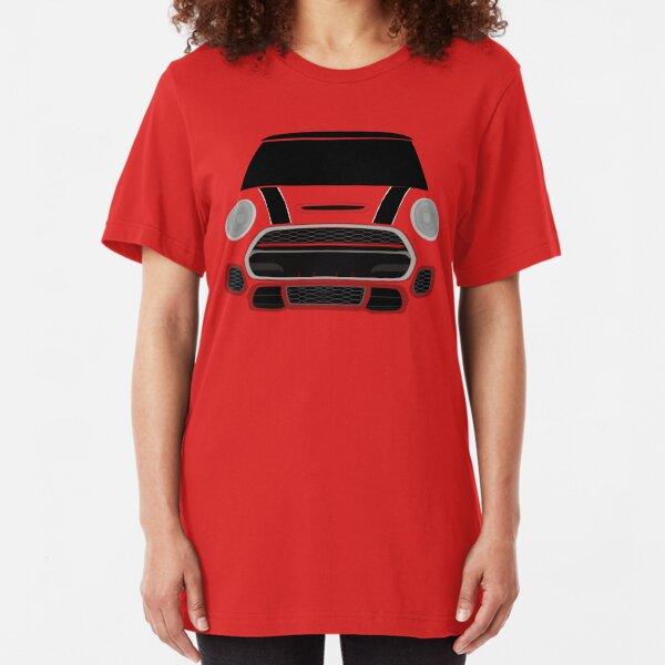 Red italian Job Slim Fit T-Shirt