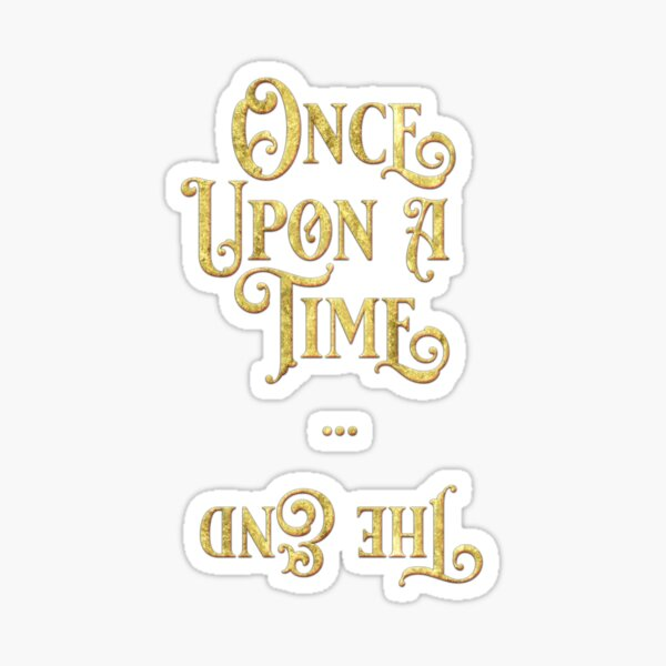 Once Upon A Time Gold Collection Sticker