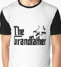 Grandfather Humour Godfather Joke Funny Comedy Graphic T-Shirt