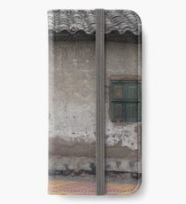 Old Window and Gate iPhone Wallet/Case/Skin