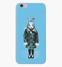 Winter White Rabbit iPhone Case