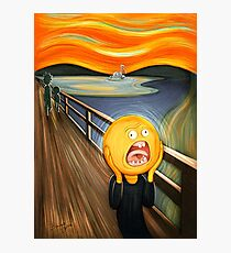 Rick and Morty - The Sun Scream Photographic Print
