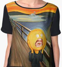 Rick and Morty - The Sun Scream Women's Chiffon Top