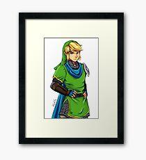 Link from TLOZ Framed Print