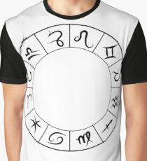 Zodiac in Black Graphic T-Shirt