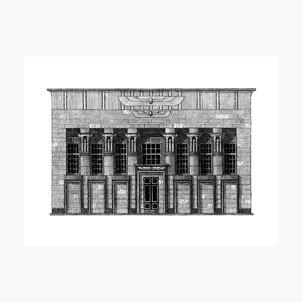 Temple Works Photographic Print