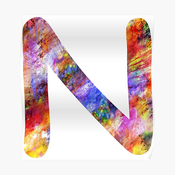 Capital N Posters   Redbubble
