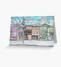 San Francisco Houses #14 Greeting Card