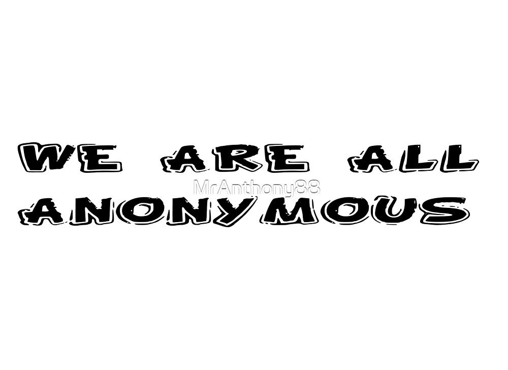 Anonymous Revolution Rebel T-Shirts by MrAnthony88