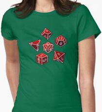 Dice of Power Womens Fitted T-Shirt