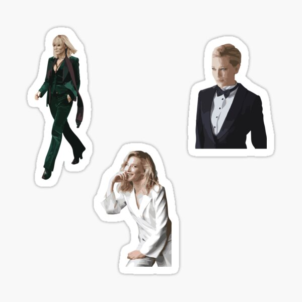Cate Blanchett Sticker