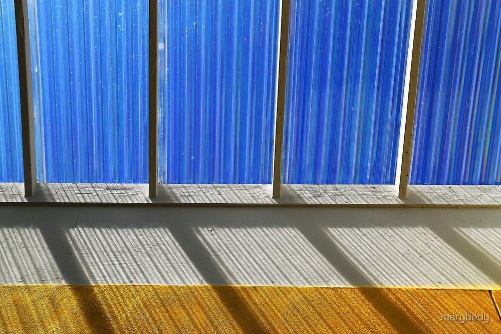 Skylight Abstract 7 by marybedy