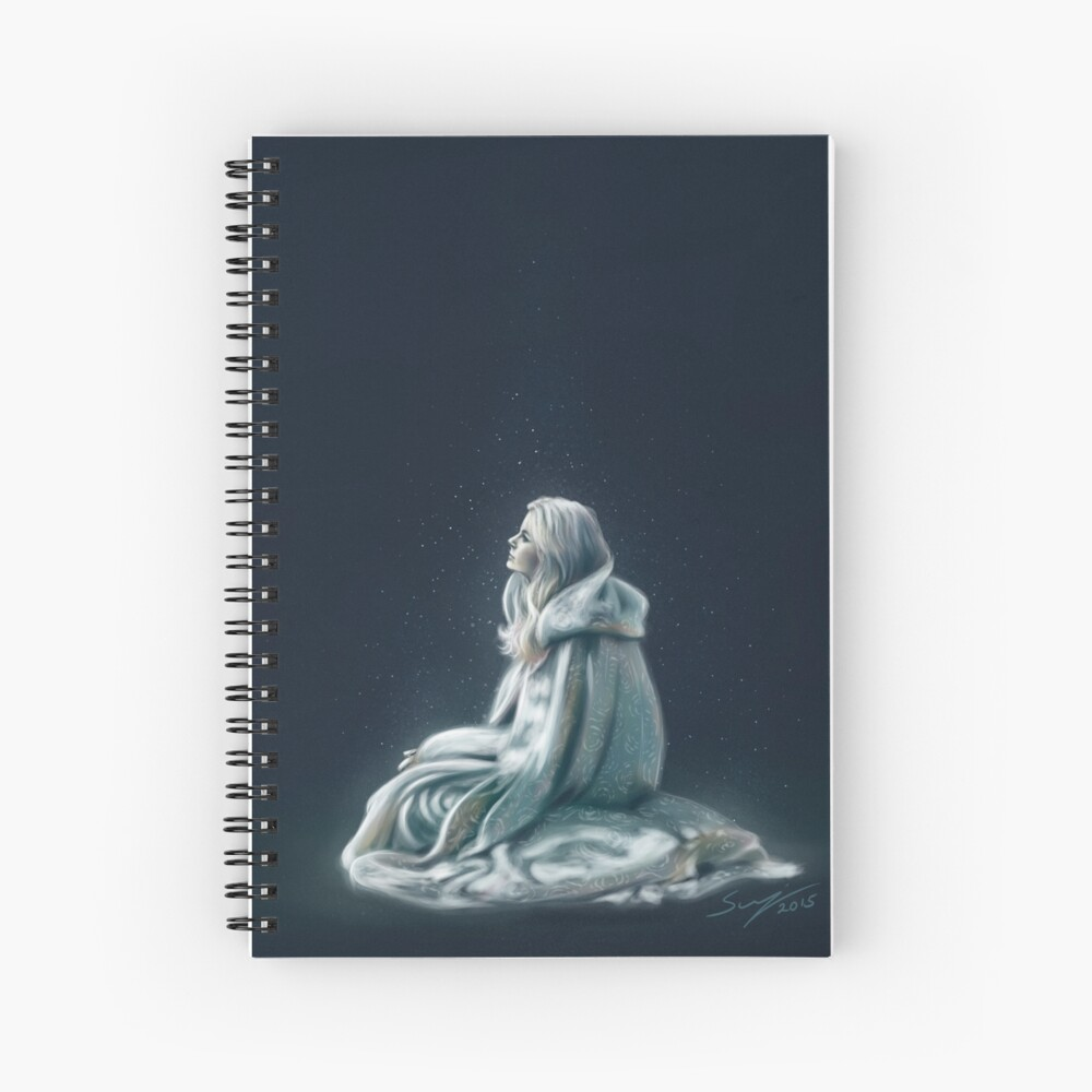 Child of the Light Spiral Notebook