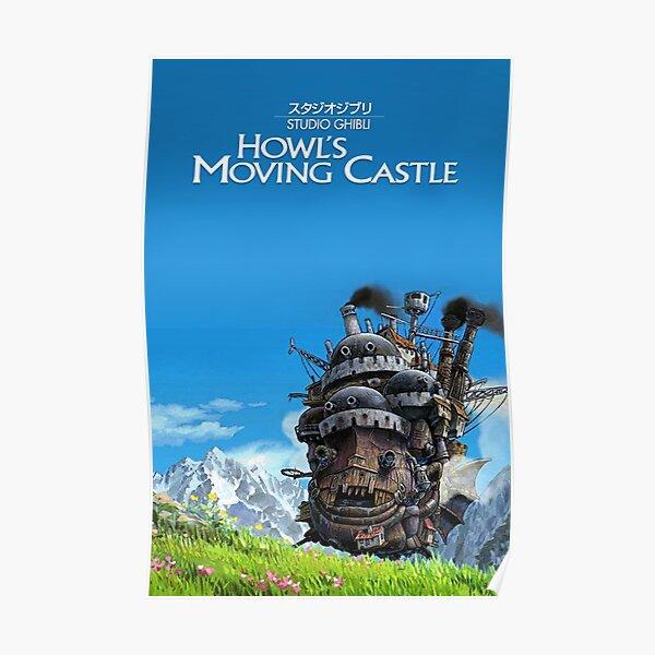 HOWLS MOVING CASTLE KOMENGUHUY Poster