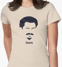 Leon Trotsky (Hirsute History) Womens Fitted T-Shirt