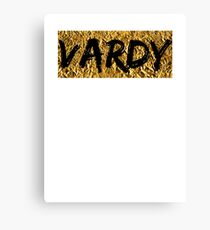 Jamie Vardy Leicester City (T-shirt, Phone Case & more) Canvas Print