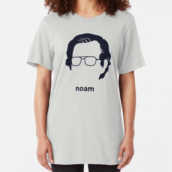 Noam Chomsky (Hirsute History) Slim Fit T-Shirt
