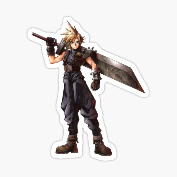 Final Fantasy VII - Cloud  Sticker