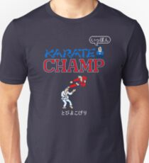Karate Champ Retro Videogame T-Shirt