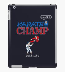 Karate Champ Retro Videogame iPad Case/Skin