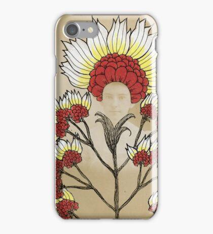 Red Flowers Bride iPhone Case/Skin