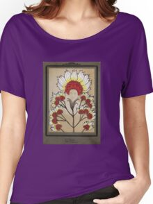 Red Flowers Bride Women's Relaxed Fit T-Shirt
