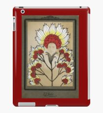 Red Flowers Bride iPad Case/Skin