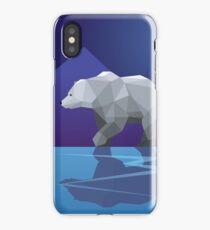 Geometric Polar Bear iPhone Case/Skin