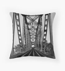 The Over Flow Throw Pillow
