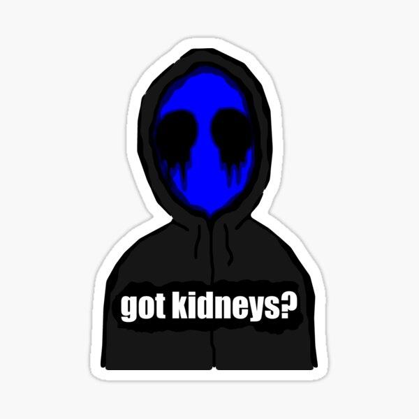 Eyeless Jack Got Kidneys? Sticker