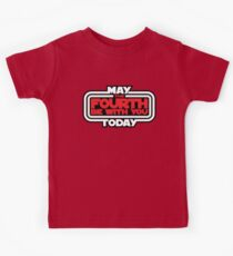 May the 4th Be With You Today Kids Tee