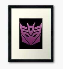 Decepticon Framed Print