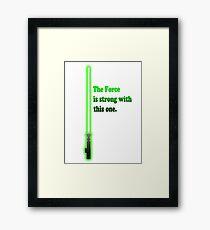 Jedi Framed Print