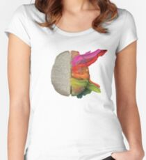 The coloured brain Women's Fitted Scoop T-Shirt