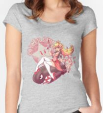 Gamer Girl Peach Women's Fitted Scoop T-Shirt