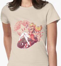 Gamer Girl Peach Women's Fitted T-Shirt